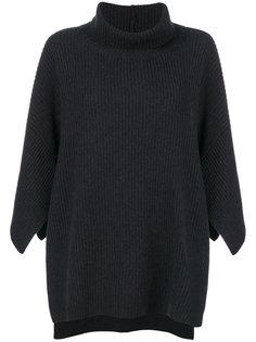 свободный свитер-кейп  Fabiana Filippi