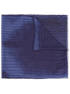 шарф с абстрактным узором John Varvatos