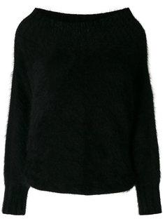свитер с широкой горловиной Alberta Ferretti