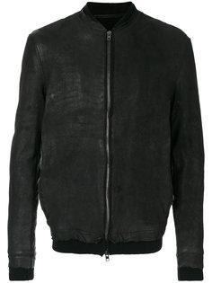 zipped bomber jacket Salvatore Santoro