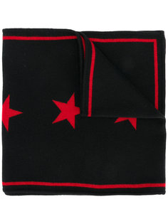 шарф с жаккардовыми звездами Givenchy