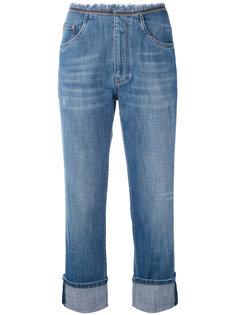 укороченные джинсы бойфренда Brunello Cucinelli