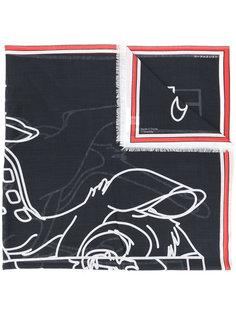 шарф с принтом Bambi Givenchy