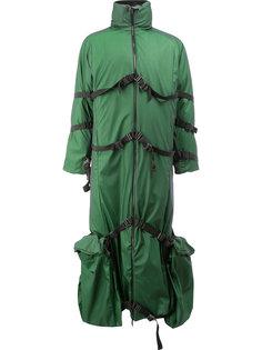 strapped high neck coat Cottweiler