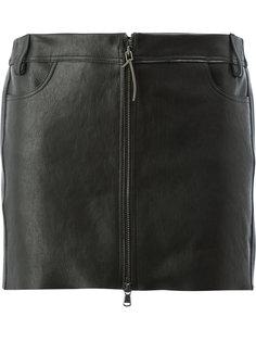 юбка с панелями разной фактуры Ilaria Nistri