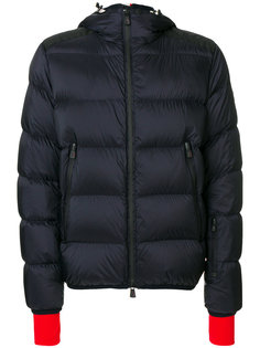куртка-пуховик с контрастными манжетами Moncler Grenoble