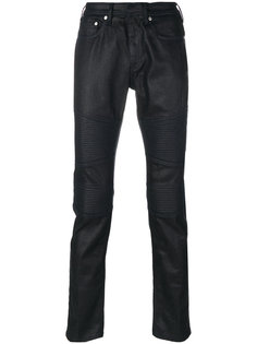 брюки с панелями в байкерском стиле Neil Barrett