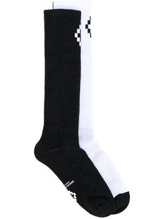 Cruz long socks Marcelo Burlon County Of Milan