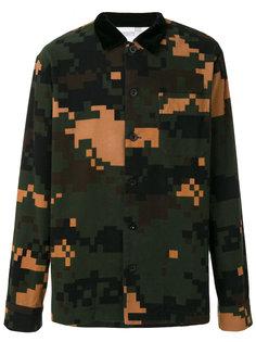 рубашка Sacai Camouflage Sacai