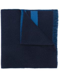 графический шарф с бахромой  Givenchy