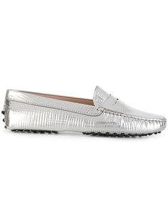 Laminated leather loafers Tods Tod`S