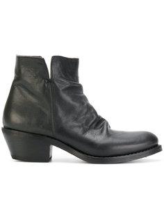 Rusty Rocker boots Fiorentini +  Baker