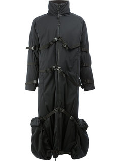 пальто с ремешками и высокой горловиной Cottweiler