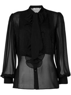 полупрозрачная блузка  Blugirl