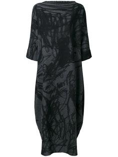длинное платье свободного кроя Daniela Gregis
