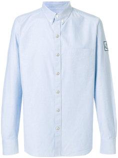 рубашка с заплаткой с логотипом Moncler Gamme Bleu