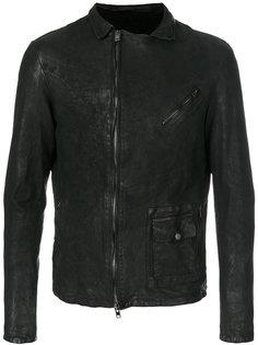 off-centre zip jacket Salvatore Santoro