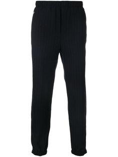 брюки в полоску с присборенными щиколотками Tim Coppens