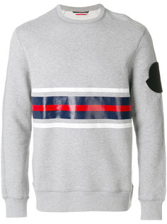 tri-colour contrast panel sweatshirt Moncler