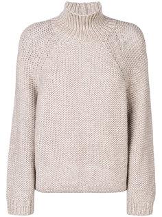 свитер в рубчик с высоким воротом  Fabiana Filippi