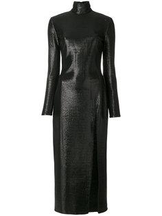 midi slit dress Maria Lucia Hohan