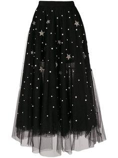 юбка с вышивкой  Wandering