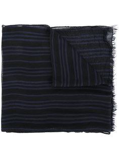 полосатый шарф John Varvatos