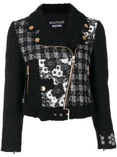 байкерская куртка  Boutique Moschino