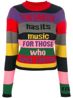свитер колор блок  Etro