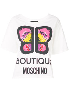 футболка с принтом  Boutique Moschino