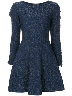 embroidered fitted dress Antonino Valenti