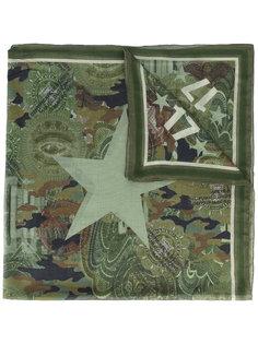 шарф с принтом долларов Givenchy