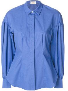рубашка с пышными рукавами Sara Battaglia