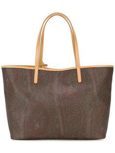 сумка-шоппер с принтом пейсли Etro