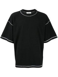 футболка с контрастной строчкой monkey time