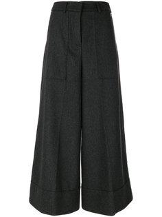 укороченные расклешенные брюки Twin-Set