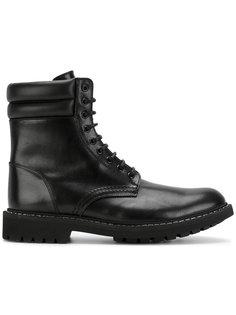 армейские ботинки на шнуровке Givenchy