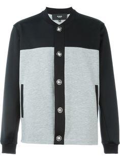 куртка-бомбер с панельным дизайном Versus