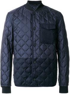 стеганая куртка-пуховик Z Zegna