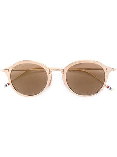 солнцезащитные очки с круглой оправой Thom Browne