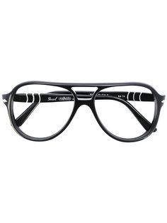 aviator frame glasses Persol Vintage