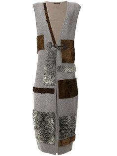 fur patchwork jacket Maurizio Pecoraro