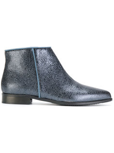 crackled ankle boots Anna Baiguera