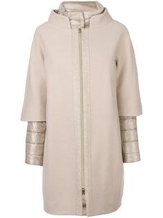 пальто с пуховой подкладкой Herno