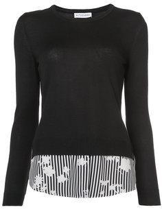 свитер с контрастным подолом Altuzarra