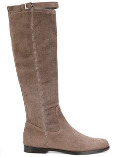 strap detail boots Unützer