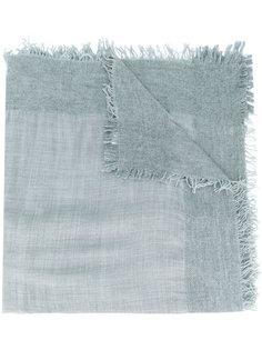 fringed knitted scarf Faliero Sarti