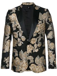 roses jacquard dinner jacket Christian Pellizzari