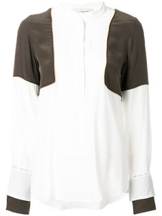 panelled blouse  Antonia Zander