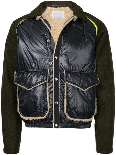 куртка с панельным дизайном Kolor